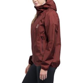 Haglöfs L.I.M Proof Veste multisport Femme, maroon red
